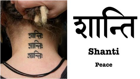 30 Tattoo Sprüche Und Symbole Auf Hindi Und Sanskrit Und