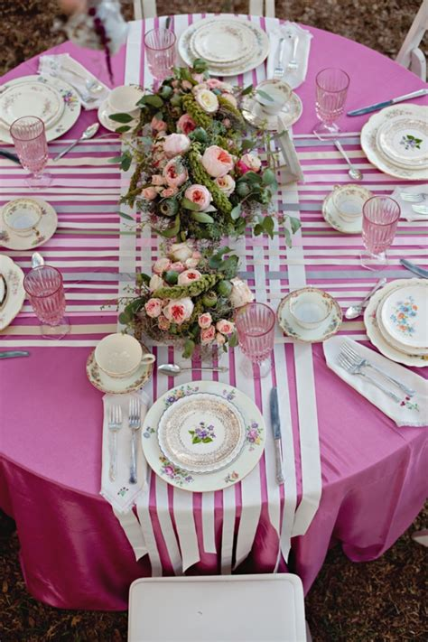 shabby chic wedding table decoration ideas shabby chic wedding ideas ruffled
