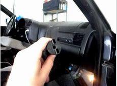E36 cabin airfilter remover YouTube