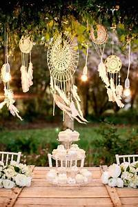 Decoration Mariage Boheme : 6 id es d co pour un mariage boh me chic r ussi decouvrirdesign ~ Melissatoandfro.com Idées de Décoration