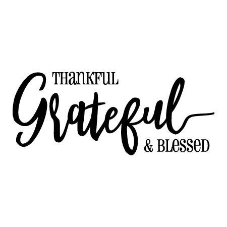 thankful grateful blessed wall quotes decal wallquotescom