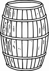 Clipart Barrel Cracker Cliparts Library sketch template