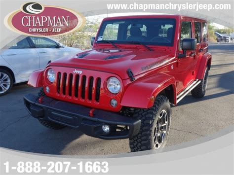 2016 Jeep Wrangler Unlimited Rubicon Hard Rock In Las