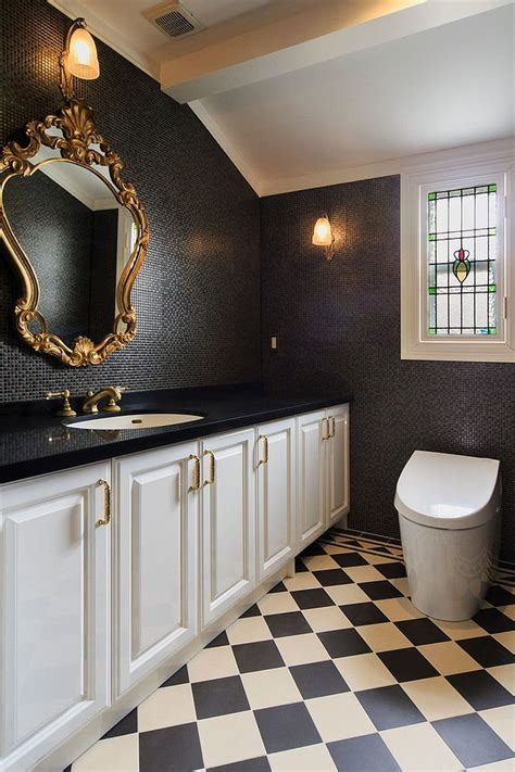 timeless affair  exquisite victorian style powder rooms