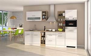 Küchenzeile Hochglanz Weiß : k chenzeile m nchen vario 3 k che mit e ger ten breite 300 cm hochglanz wei k che ~ Orissabook.com Haus und Dekorationen