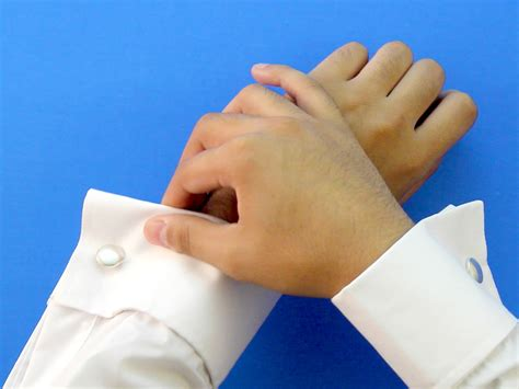 How To Put On Cufflinks 12 Steps (with Pictures)  Wikihow