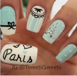 Paris nails nail art