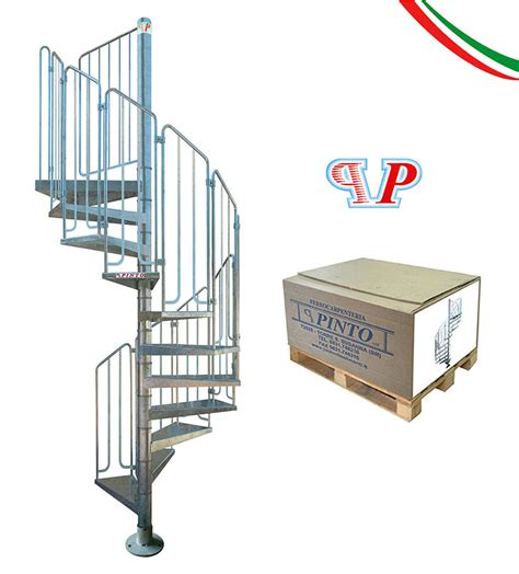 escalier ext 233 rieur colima 231 on acier galvanis 233 pinto thor 216 100 cm