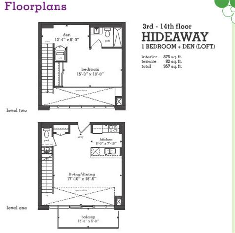 liberty on the park liberty village floor plans for