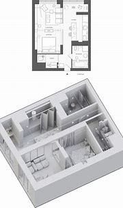 BW interior in PecherSKY on Behance in 2020   Industrial ...