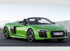 The R8 Spyder V10 Plus is Audi's Most Powerful Convertible