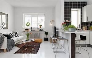 Küchenblock Ohne Geräte Ikea : 1001 ideen f r kleine k chen zum inspirieren k che und wohnzimmer kleine einbauk che und ~ Watch28wear.com Haus und Dekorationen