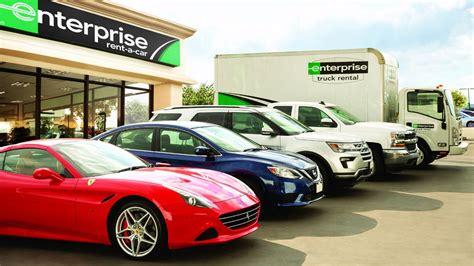 Enterprise Luxury Car Types