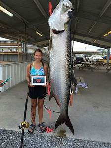 14-year-old girl catches potentially world record-breaking ...