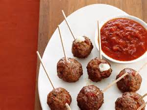 Stuffed Meatball Recipe Giada