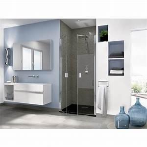 portes de douche pivotantes sans profiles horizontaux With porte douche kinedo smart