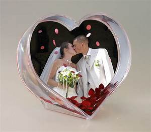 Idée Cadeau 1 An De Mariage : le cadre coeur avec confettis anim noel ~ Melissatoandfro.com Idées de Décoration