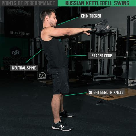 kettlebell russian swing american onnit swings vs academy points exercise performing performance neutral spine workout kettlebells lat training exercises mistakes