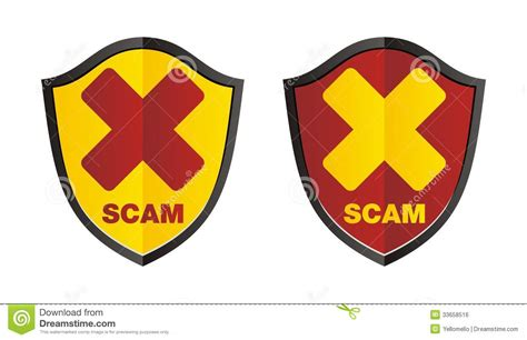 Why should i download scamshield? Scam shield stock illustration. Illustration of protection - 33658516