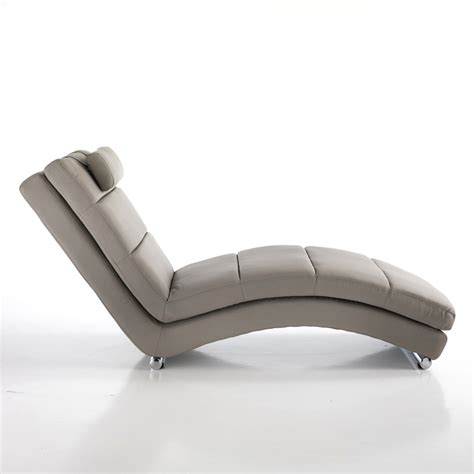 chaise designer modern design faux leather chaise longue beatrice dove
