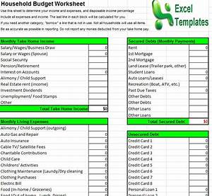 household budget template household budget calculator With household budget categories template