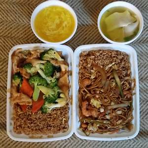 Lunch Specials, both w/fried rice VS white rice: Chicken w ...