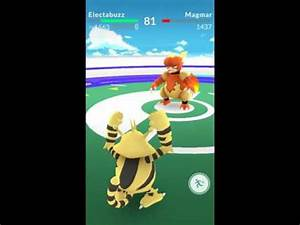 Pokemon GO Duelos 2 Magmar Vs Electabuzz La muerte de un ...