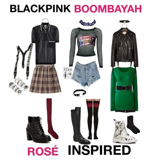 42 best Black Pink outfits images on Pinterest | Kpop outfits Inspired outfits and Korean fashion