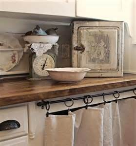 cabinet and curtain shabby chic kitchen excuse me drool
