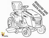 Tractor Lawn Coloring Mower Pages Riding Lawnmower Tractors Snapper Farm Boss Nxt Yescoloring Template sketch template