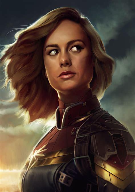 Captain Marvel  Movie Fanart Fanarttv