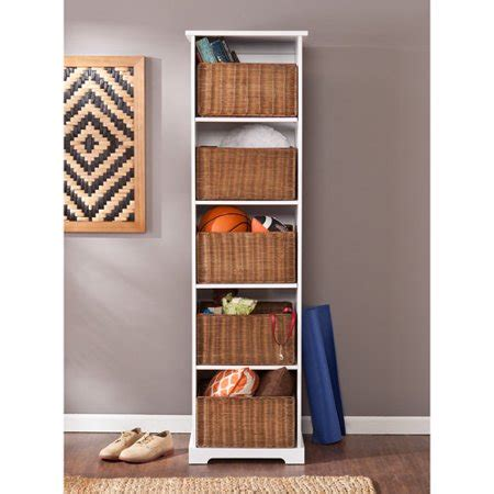 Entryway Cabinet Tower by Raynor Entryway Storage Tower Cubby White Walmart
