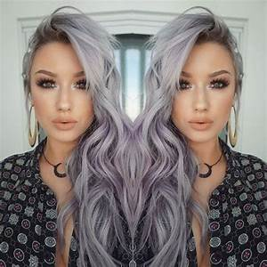 Witchy Lavender-Grey Waves - 21 Pinterest Looks That Will ...