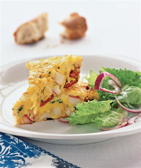 spanish omelet with potatoes and chorizo 20 fast dinner