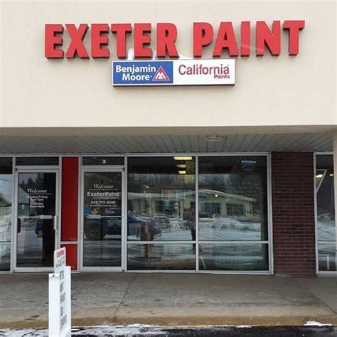 exeter paint the benjamin moore and california paint