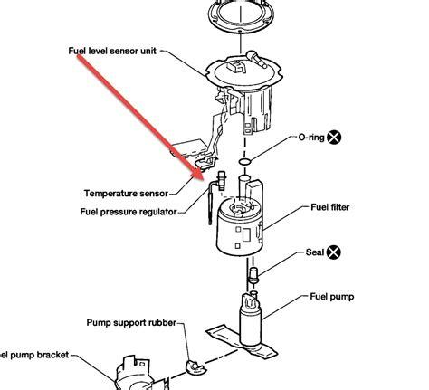 2003 Altima Fuel Filter Location by Pregunta