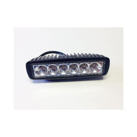 led light bar 6 inch black xtreme
