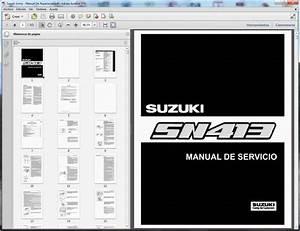 Suzuki Jimny  Sn413  - Service Manual