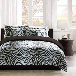 home essence zebra print down alternative bedding