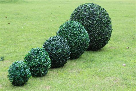 New Artificial Plant Ball Tree Boxwood Wedding Event Home