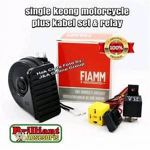 Jual Klakson Single Keong Fiamm Original
