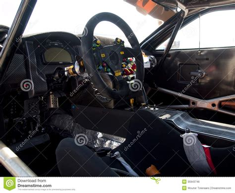 The Cockpit Of A Mclaren Gt Mp4-12c Editorial Photo