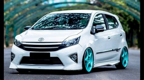 Toyota Agya Modification by Modified Cars Toyota Agya Concept Cool Daily