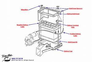 1962 Corvette Battery Parts