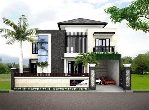 gambar gambar desain rumah ukuran  contoh