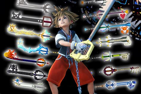 10 Best Keyblades In Kingdom Hearts History
