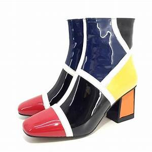 Justice Handmade Print Ankle Boots In 2020