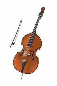 Double Bass and Bow, Stringed Instrument, Musical ...