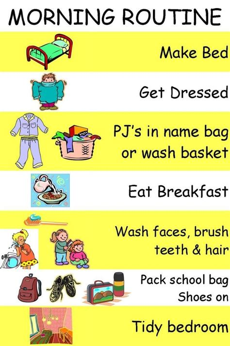 17 Best Images About Chores And Daily Activities For Kids
