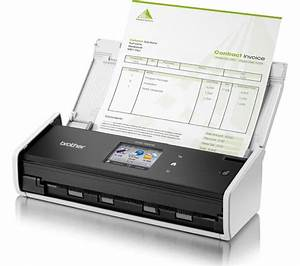 Buy brother ads1600w compact wireless document scanner for Compact document scanner
